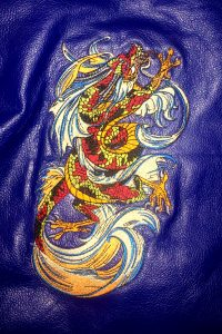 Chinese Dragon Embroidery